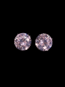 THREE QUARTER CARAT 14kt. ROUND STUDS