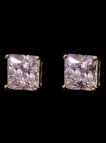 TWO CARAT GOLD STUD