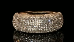 BANGLE OF BLING - GOLD